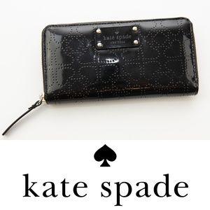 Kate Spade Metro Neda Continental Wallet Black